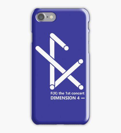F(X) Dimension 4 1st concert iPhone Case/Skin