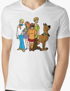 Scooby Gang Mens V-Neck T-Shirt