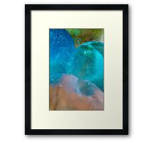 Coloured Ice Creation Print #1 Framed Print