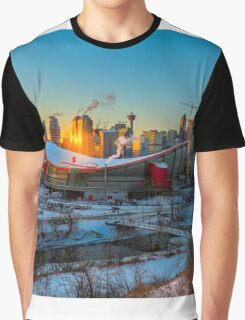 Calgary in the Cold Graphic T-Shirt