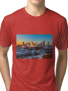 Calgary in the Cold Tri-blend T-Shirt