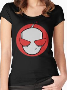 Gir Reporting for Duty! Women's Fitted Scoop T-Shirt