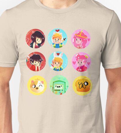 ADVENTURE TIME dots Unisex T-Shirt