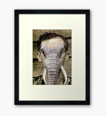 I like this guy Framed Print