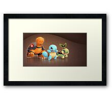 Pokemon!! Framed Print