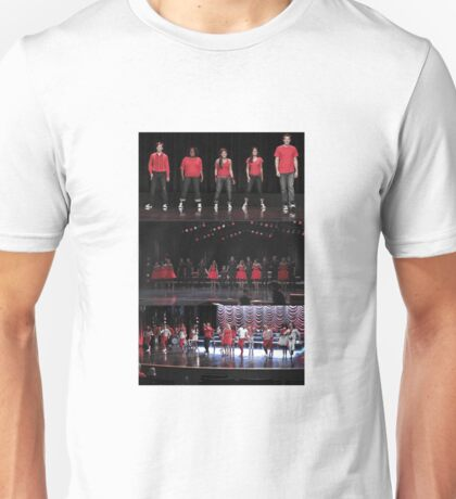 Glee: Red = Victory Unisex T-Shirt