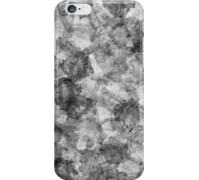 Charcoal Smudge - Watercolour Style iPhone Case/Skin