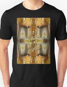 Let Her Eat Cake Marie Antoinette Versailles Bedroom T-Shirt