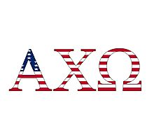 Alpha Chi Omega - USA Photographic Print