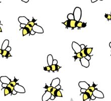 Buzz Off Bees Sticker