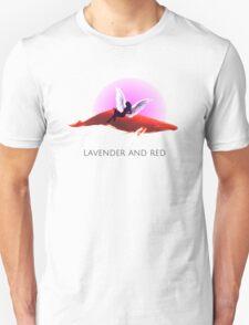 Lavender & RED  Unisex T-Shirt