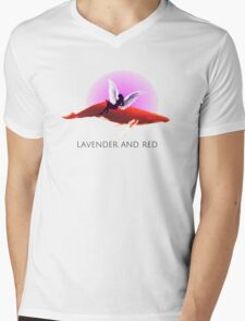 Lavender & RED  T-Shirt