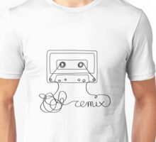 Remix - old cassette tape remixed Unisex T-Shirt