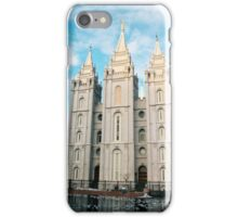 Salt Lake City Temple iPhone Case/Skin