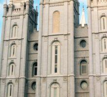 Salt Lake City Temple Sticker