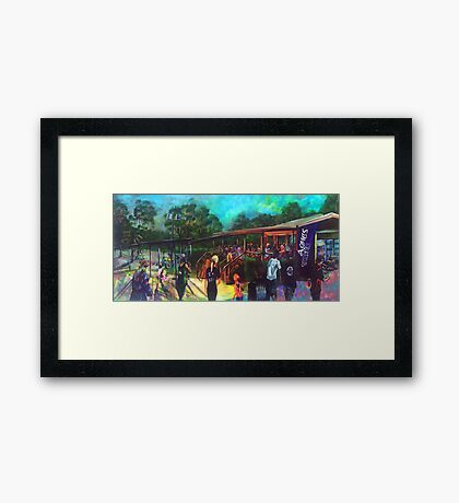 Australia Day - Agnes Water Tavern  Framed Print