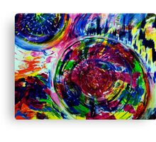 Original Abstract Art #198 - My Art Series Canvas Print