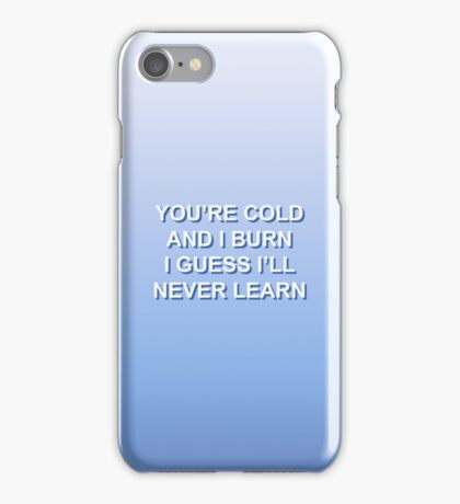 SETTLE DOWN / THE 1975 iPhone Case/Skin