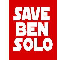 Save Ben Solo Photographic Print