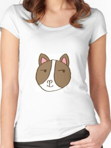 Frenchie came up with a trick Women's Fitted Scoop T-Shirt