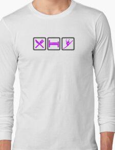 Eat Sleep DANCE Long Sleeve T-Shirt