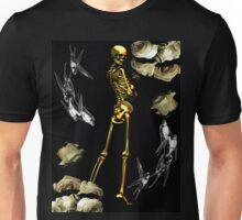 Golden Skeleton Unisex T-Shirt