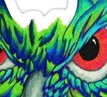 Owl Face Sticker