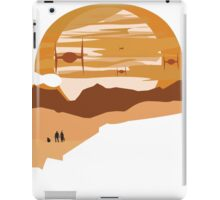 ships and sunset iPad Case/Skin