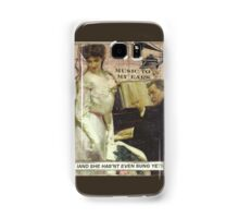 Music To His Ears Samsung Galaxy Case/Skin