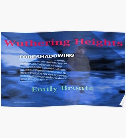 Wuthering Heights Foreshadowing Poster