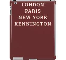 Big Cities Clobber Kennington iPad Case/Skin