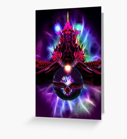 Dragon Orb Greeting Card