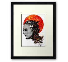 just a ghost in the shell Framed Print
