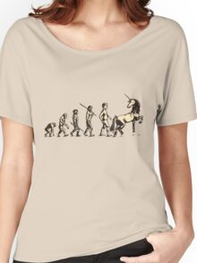 The evolution is FABULOUS Women's Relaxed Fit T-Shirt