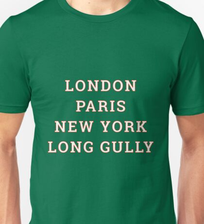 Big City Clobber Long Gully Unisex T-Shirt