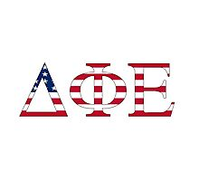 Delta Phi Epsilon - USA Photographic Print
