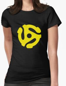 Retro Ska 45 Spacer Womens Fitted T-Shirt