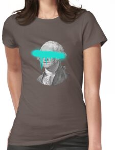 George Washington - Eyes on You Womens Fitted T-Shirt