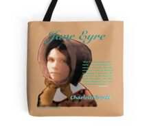 Jane Eyre Text Tote Bag