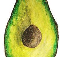 kinda random avocado by rainyydaisy