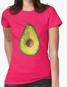 kinda random avocado Womens Fitted T-Shirt