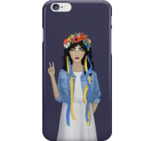 Jean Jacket Ukrainian iPhone Case/Skin