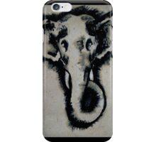 Inked elephant iPhone Case/Skin