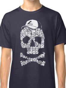 Pokemon Skull Pattern Classic T-Shirt