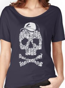 Pokemon Skull Pattern Women's Relaxed Fit T-Shirt