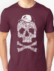 Pokemon Skull Pattern Unisex T-Shirt