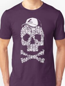 Pokemon Skull Pattern T-Shirt
