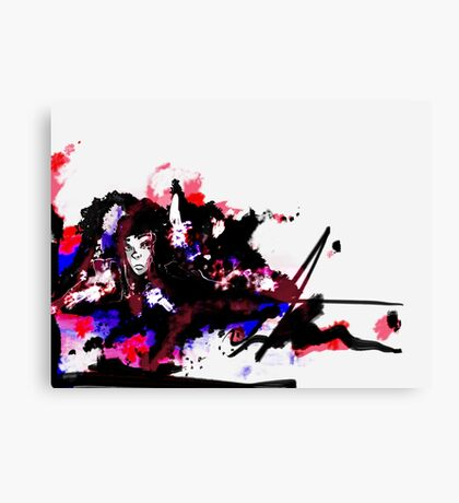 Color Burned  Canvas Print