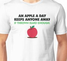 An apple a day keeps everyone away! Unisex T-Shirt