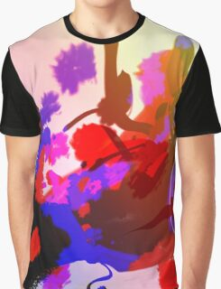 Abstract Lights Graphic T-Shirt